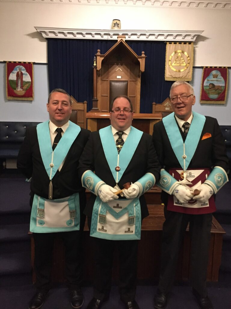 Worshipful Master & His Wardens: 2018